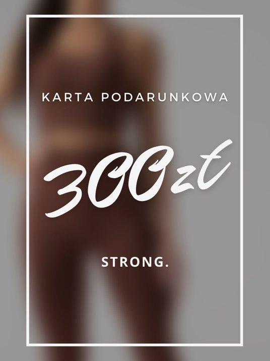 Karta podarunkowa 300ZŁ